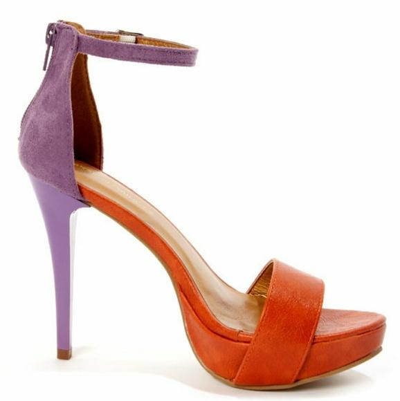 Shoe Republic La Dysis Orange Purple